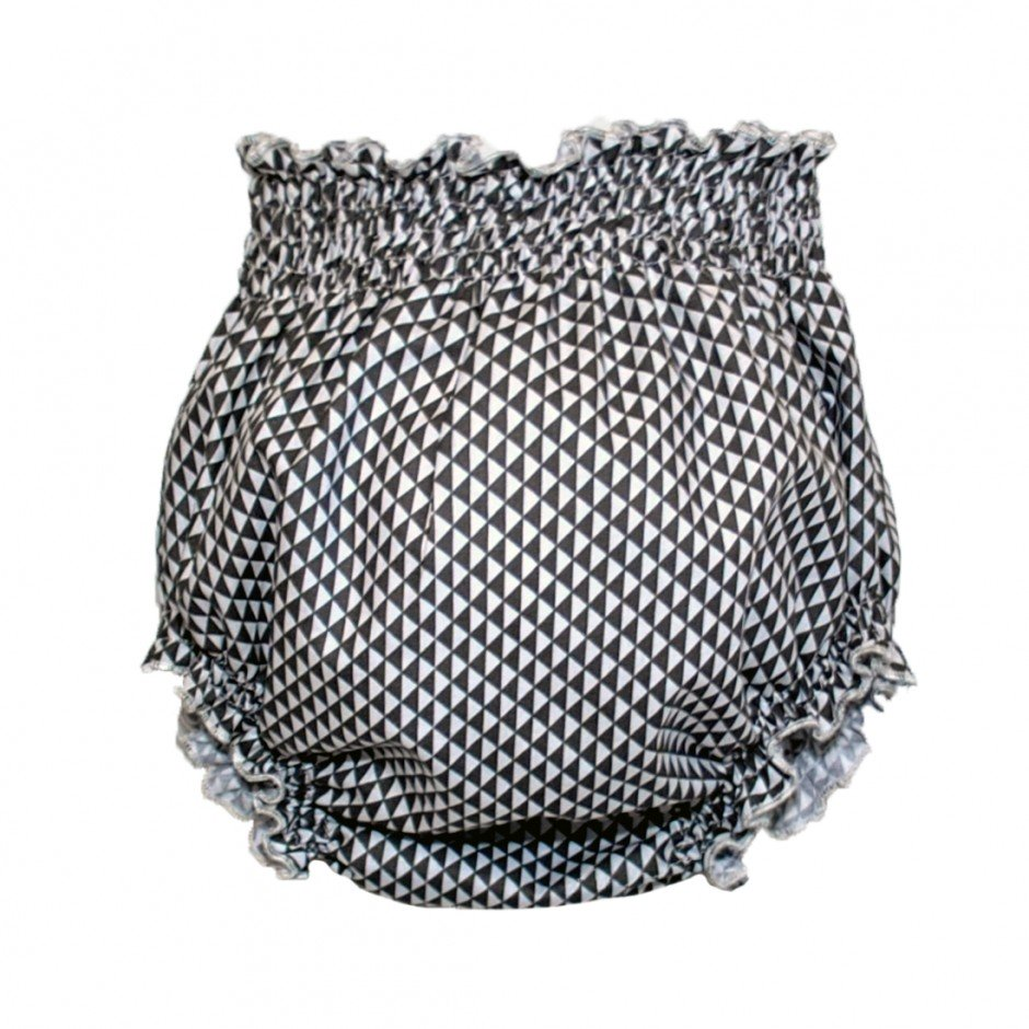 CULOTE MINI TRIANGULOS GRIS